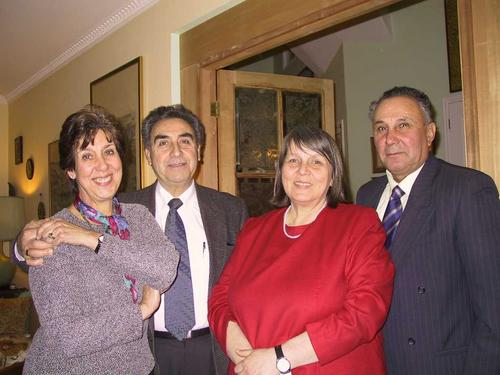 Birgit, René, Lia and Manuel
